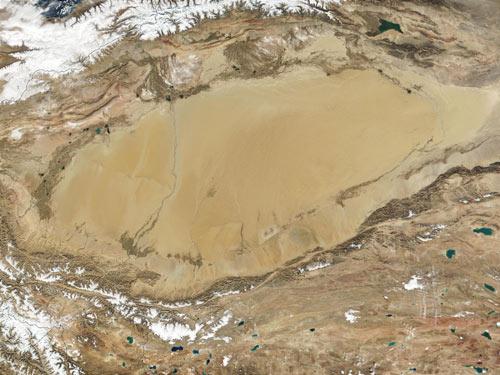 最大的内陆盆地